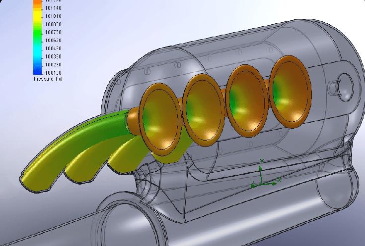 New NSX intake system