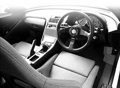 In cars equipped with the manufacturer's optional dual SRS airbags, only the leather-wrapped portion is made by Momo.